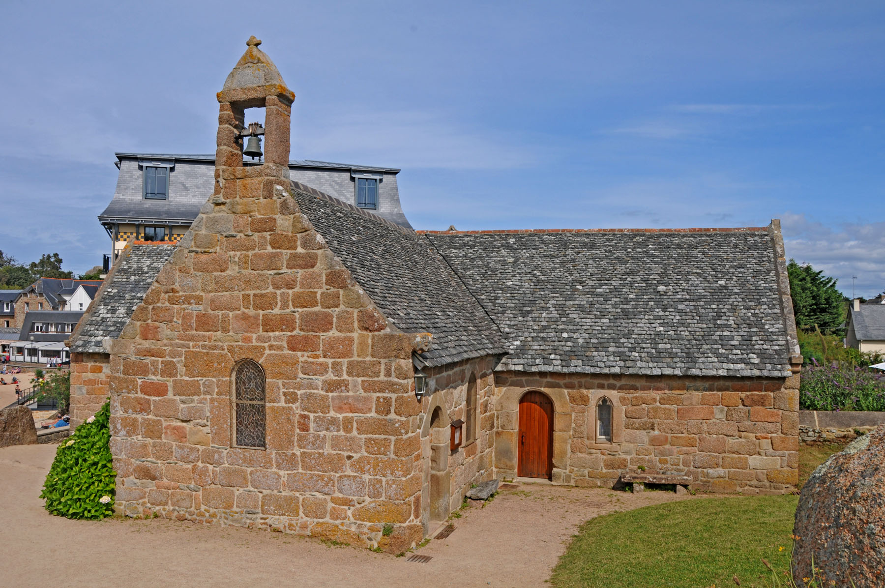La chapelle Saint-Guirec - Ploumanac'h, Бретань Ploumanach