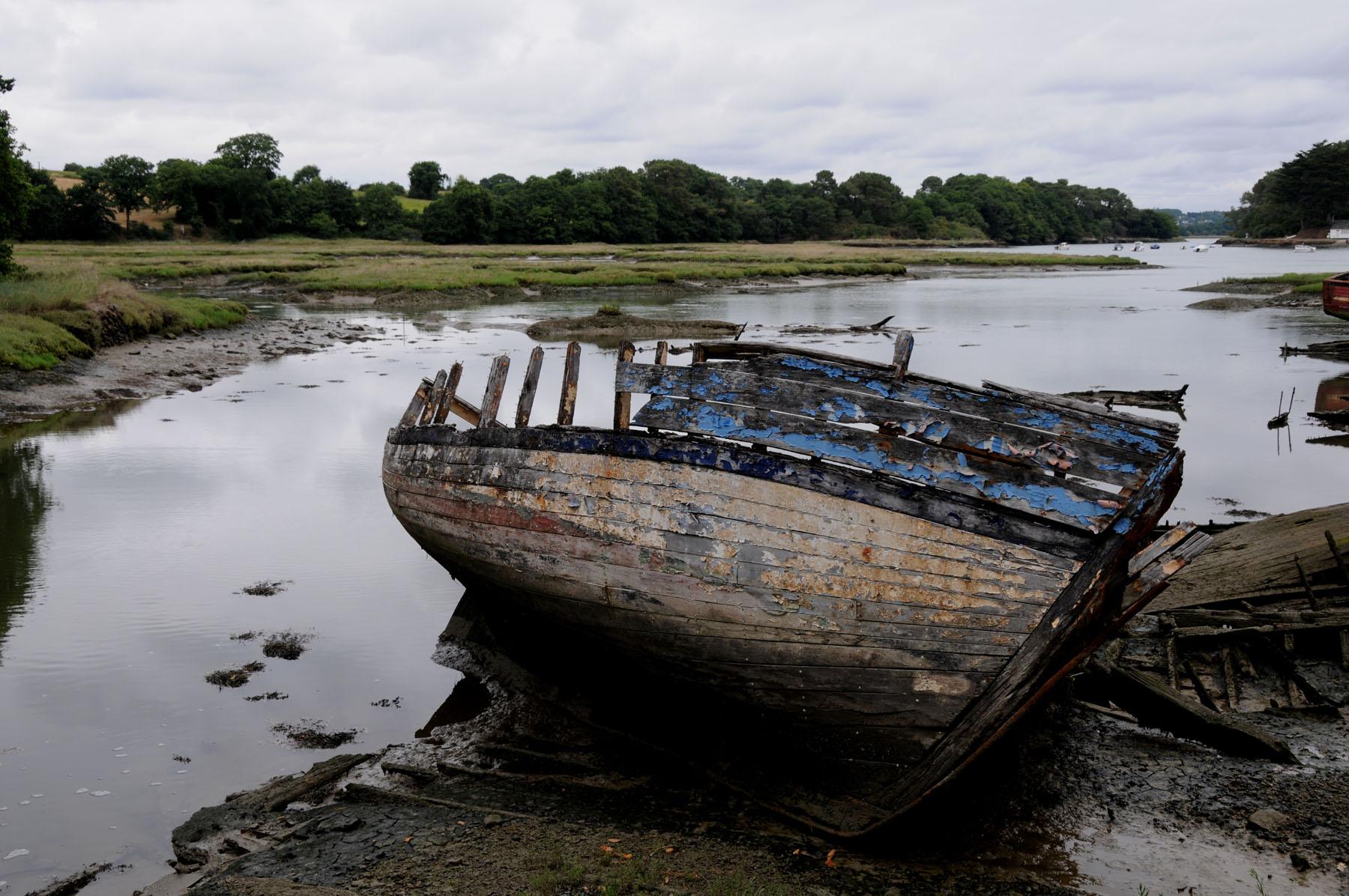 Morbihan Vieilles Coques Vieux Navires Et 233 Paves